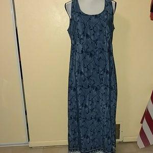 Size 13 14 maxi dress by dby